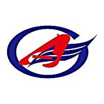 椭圆A字翅膀公司logo图标素材