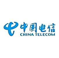 中国电信横版LOGO