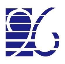 免费素材 矢量素材 标志 图标 其他 蓝色创意96数字logo  请您分享图片