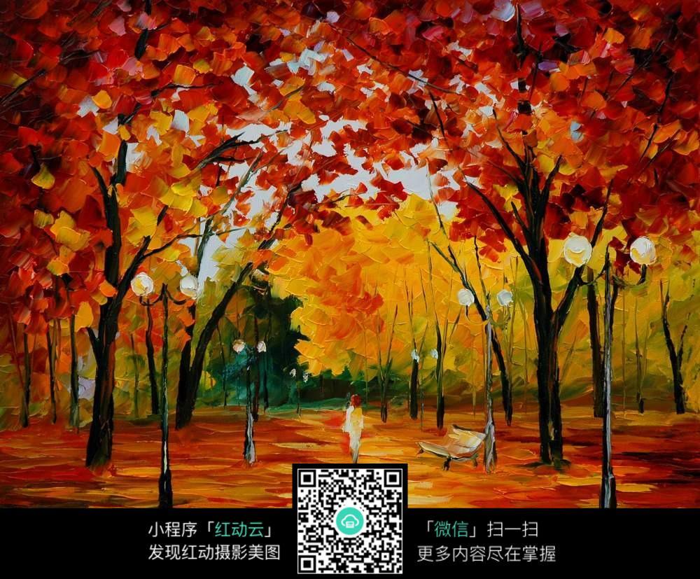 秋季�9b�9/&�..��z(_秋季风景画