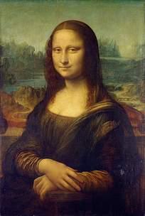 名画蒙娜丽莎画像