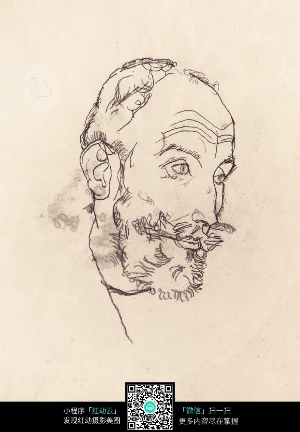 古代男人图片手绘