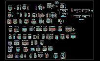 室内立面CAD图库