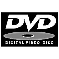 银色光盘DVD标志矢量素材