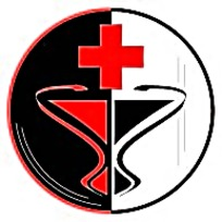 黑白红十字标志矢量素材