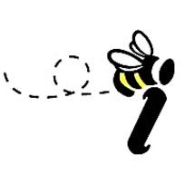 蜜蜂标志设计