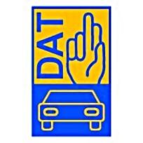 DAT汽车公司矢量EPS标志图片素材