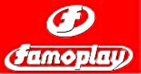 FAMOPLAY汽车公司矢量EPS标志图片素材