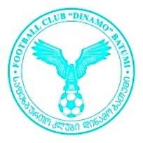 FOOTBALL CLUB DINAMO BATUMI巴统迪纳摩足球俱乐部矢量eps标志图片素材