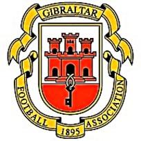 GIBRALTAR直布罗陀足球队矢量eps标志图片素材