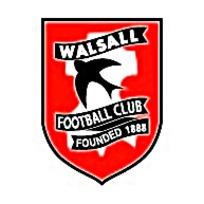 WALSALL FOOTBALL CLUB沃尔索尔足球俱乐部矢量eps标志图片素材