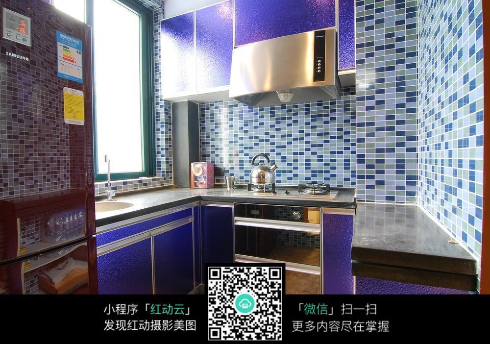 厨房马赛克墙面装修效果图