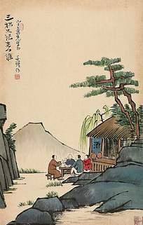 丰子恺风景画集