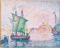 油画效果欧美风格海上风景图片素材
