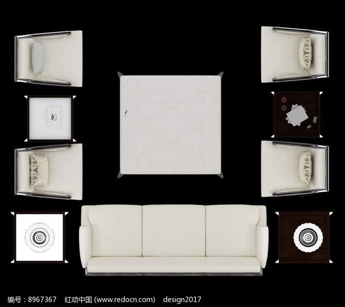 沙发摆放效果图PSD素材免费下载 编号8967367 红动网