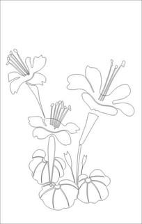 花素雕刻图案