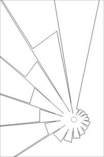 玉砂图雕刻图案