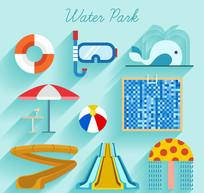 9款精致水上乐园图标