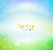 春季梦幻背景