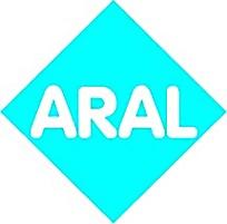 蓝色背景ARAL图标