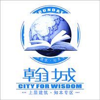 文学创意地产logo