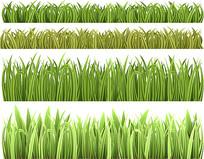 草丛矢量素材