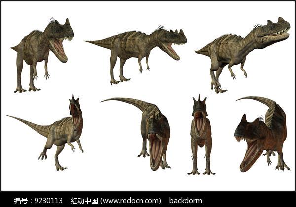 分层恐龙素材图片