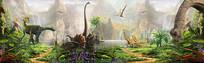 侏罗纪公园素材