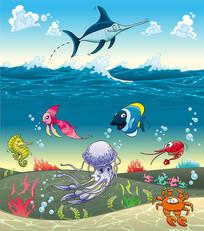 矢量海洋世界