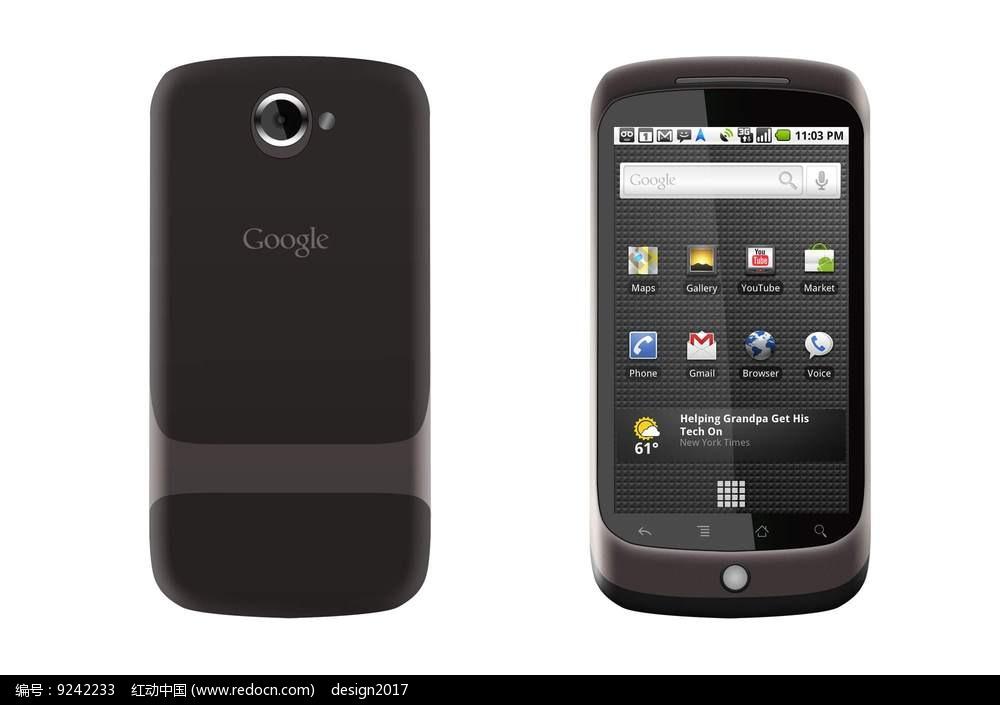 UI设计立体手机设计图片