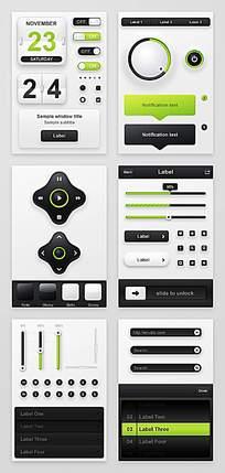 手机主题应用模板设计