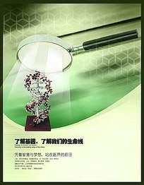 dna分子海报