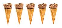 冰淇淋 蛋筒 高清 图片