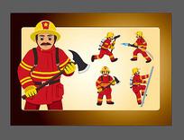 消防员素材