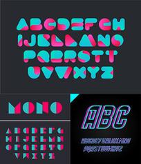 潮流英文字体设计