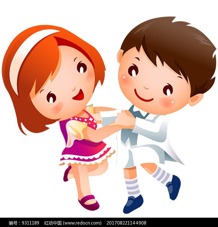 跳舞卡通人物其他素材免费下载 红动网
