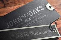 标签印刷logo样机