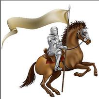 古代骑士素材