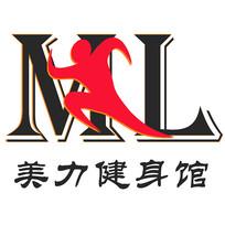 美力健身馆logo
