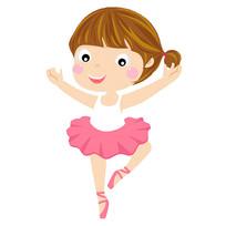 跳芭蕾舞的女孩