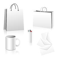 空白手提袋样机模型