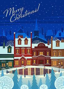 圣诞节海报宣传