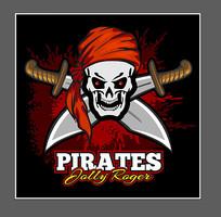 海盗骷髅图案