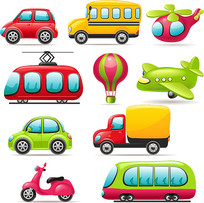 交通工具素材