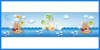 卡通海洋图案素材