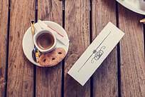 饼干咖啡样机图片