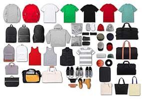 鞋子服装与包包等物品应用效果模板