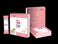 粉色胭脂谷粉冲调食品包装