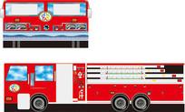 消防车素材
