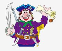 卡通海盗素材
